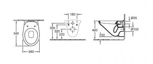 der wannenpflegeshop wand wc omnia jasmin hersteller v b. Black Bedroom Furniture Sets. Home Design Ideas