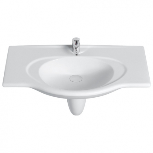 Waschtisch Modell Isabella 100 cm, flanell