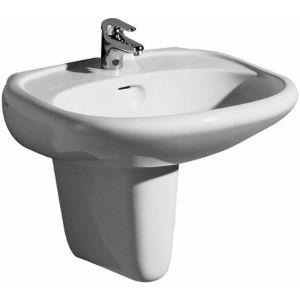 Der Wannenpflegeshop Waschtisch Modell Renova 60 Cm Edelweiss
